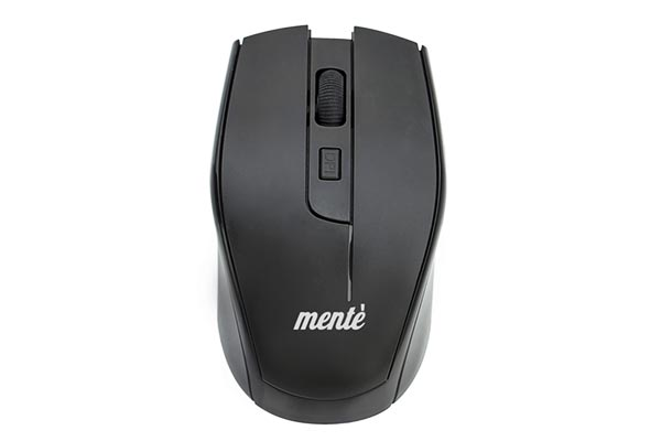 Mente 4D Advanced Wireless Mouse with USB Mini Receiver 2.4 GHz Simple Plug and Play Compatible with PC and MAC